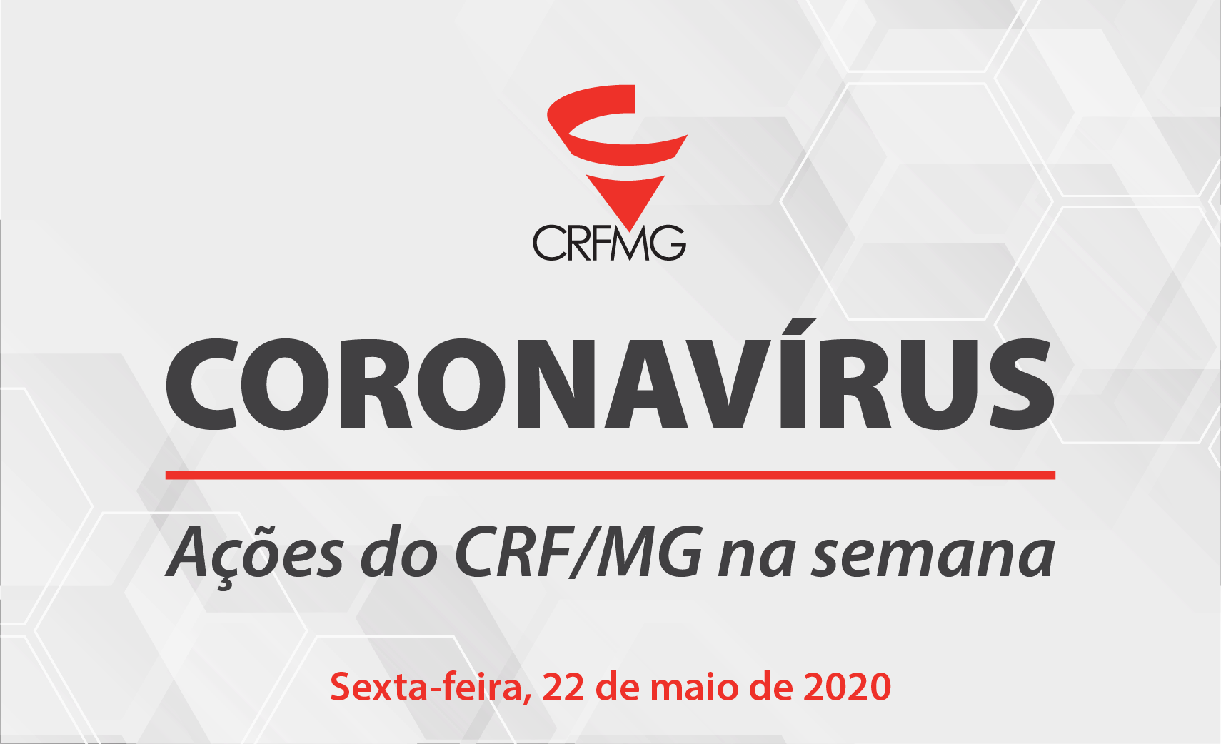 Confira as ações do CRF/MG entre 18 a 22 de maio